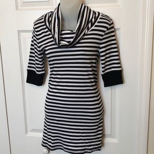 Express striped dress Medium